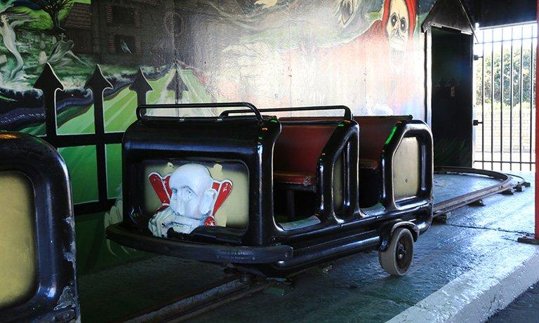 Flamingo Park Ghost Train.